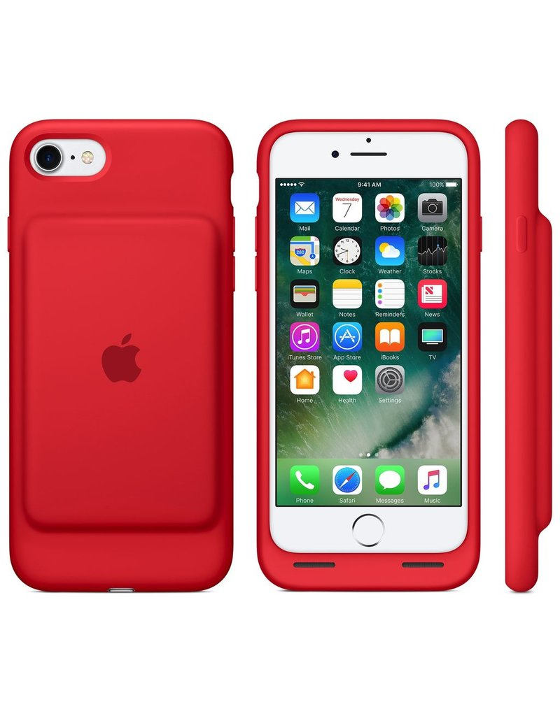 Apple Apple iPhone 7/8 Smart Battery Case - Red