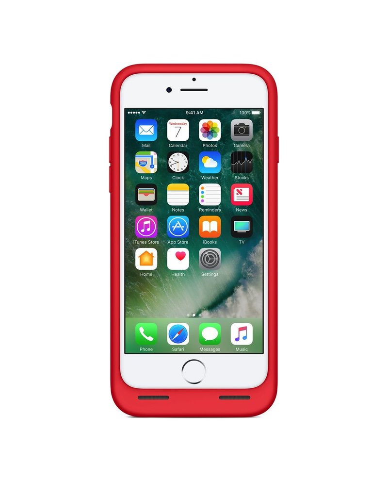 big sale 872e5 63d03 Apple Apple iPhone 7/8 Smart Battery Case - Red