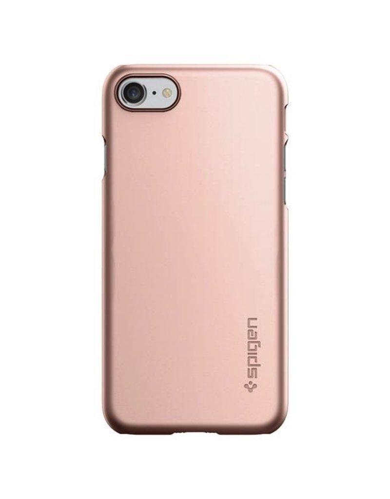 Spigen Spigen iPhone 7/8 Case Thin Fit- Rose Gold