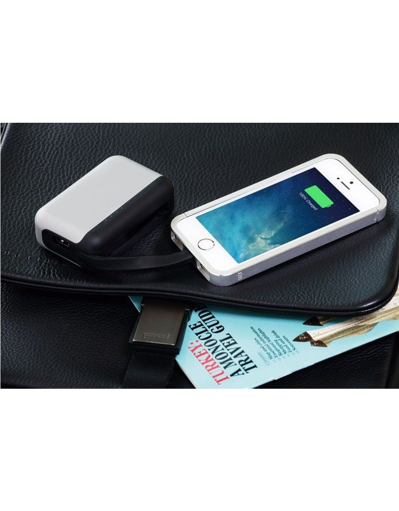 Just Mobile Just Mobile TopGum The Sophisticated Backup Battery 600mAh - Silver