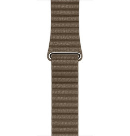 Apple APPLE WATCH LEATHER LOOP MAGNETIC CLOSURE BAND 42/44MM, L - LIGHT BROWN