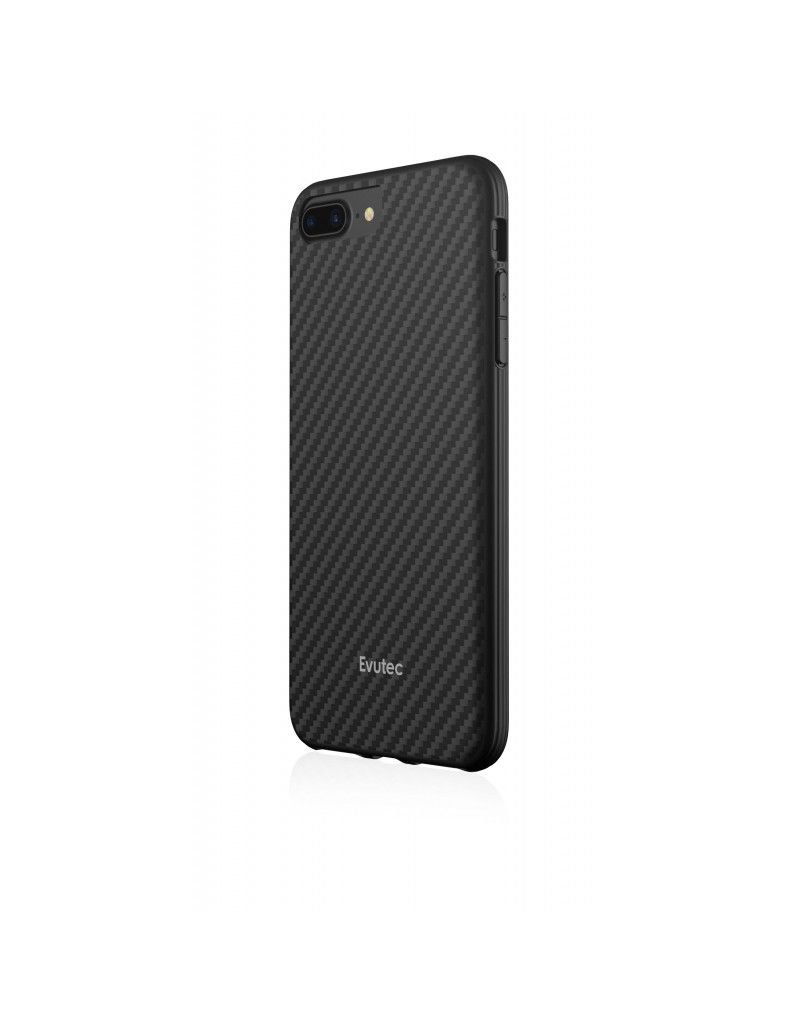 Evutec EVUTEC AER KARBON SERIES CASE WITH AFIX VENT MOUNT FOR IPHONE 8/7/6S/6 PLUS - BLACK