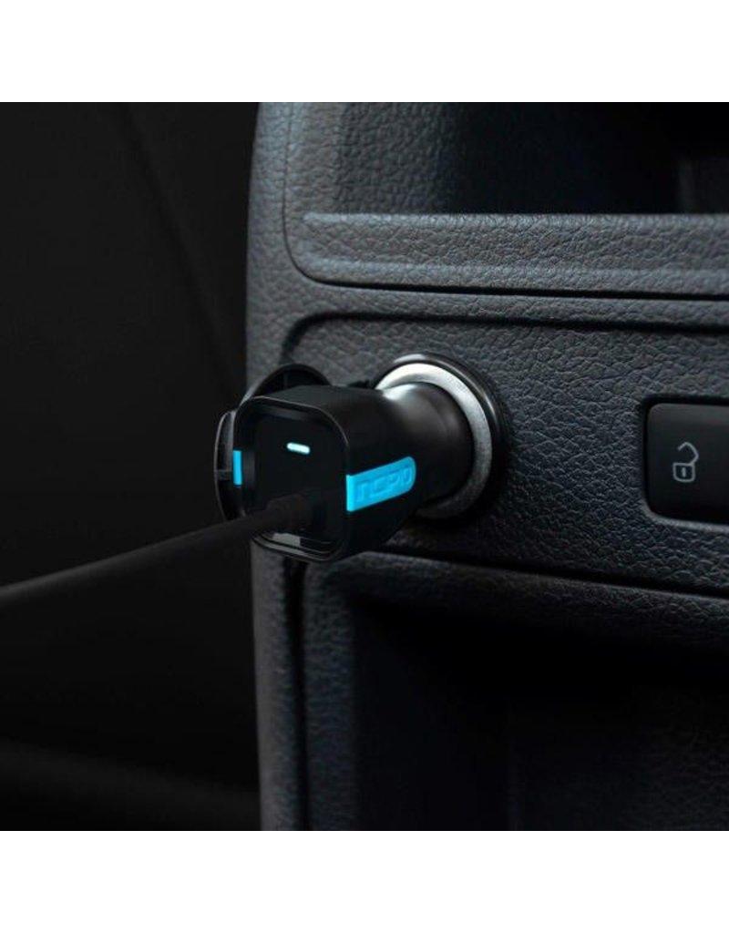 Incipio Incipio 15W USB-C Car Charger With Captive USB-C Cable - Black