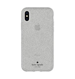 Incipio INCIPIO APPLE IPHONE X KATE SPADE NEW YORK FLEXIBLE GLITTER CASE - SILVER