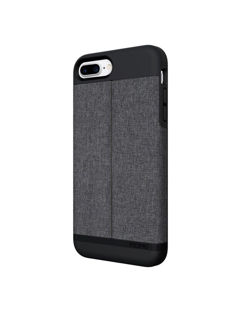 Incipio Incipio Wallet Case Esquire Series for iPhone 7 Plus - Heather Dark Gray