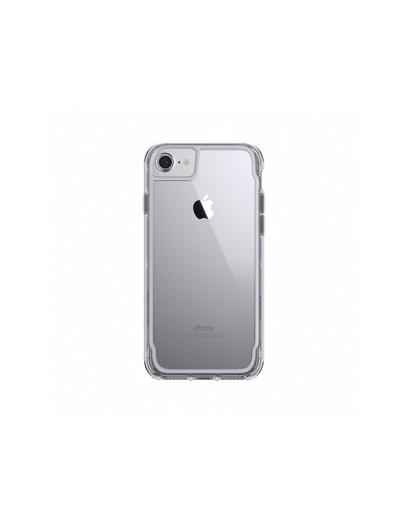 Griffin Griffin Survivor Clear Case for iPhone 7/8/SE - Clear/Space Grey