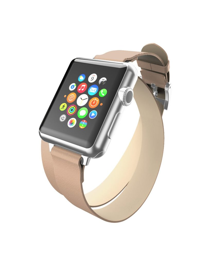 Incipio INCIPIO APPLE WATCH 42/44MM REESE DOUBLE WRAP WATCHBAND - TAUPE