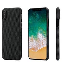 Pitaka Pitaka Aramid Case for iPhone X - Black/Grey Plain