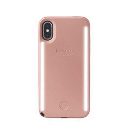 LuMee LuMee Duo Light Case for iPhone X/Xs - Rose