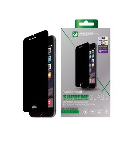 AMAZINGthing AT Premium iPhone 6/6s Plus Privacy SUPREMEGLASS