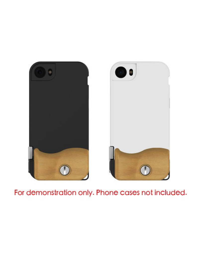 Bitplay BITPLAY BEECH WOOD GRIP FOR SNAP! 7 - 4.7 INCH