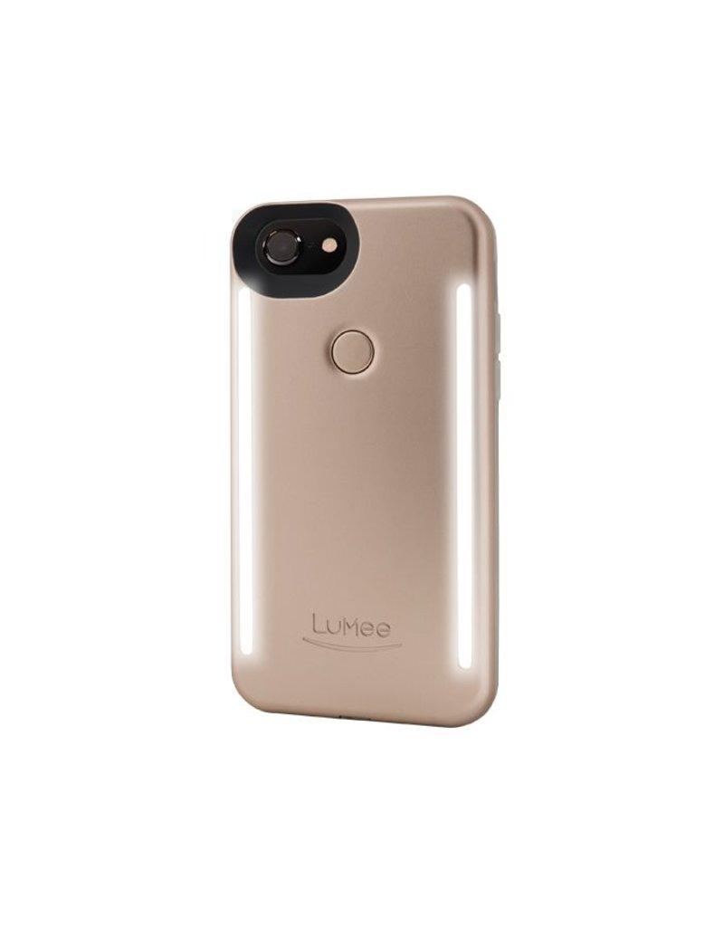 LuMee LuMee Duo Light Case for iPhone 7/8  - Gold