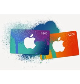 Apple iTunes Gift Card - $200 USA