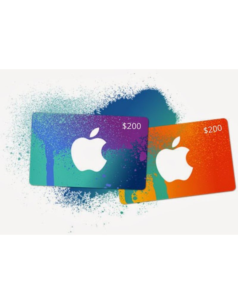 Apple iTunes Gift Card - $200 USA