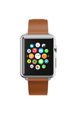 Incipio INCIPIO APPLE WATCH 42/44MM PREMIUM LEATHER WATCHBAND - CHESTNUT