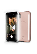 LuMee LuMee Duo Light Case for iPhone X/Xs - Rose