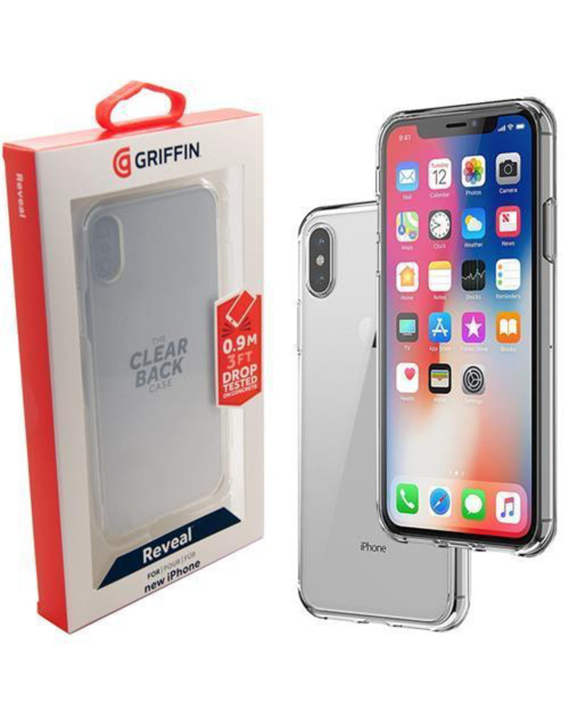 Griffin Griffin Reveal Case for iPhone X/Xs -  Clear