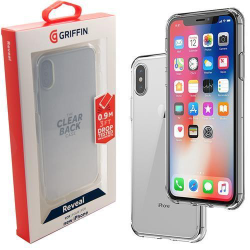 best sneakers cc8cd d827d Griffin Griffin Reveal Case for iPhone X/Xs - Clear