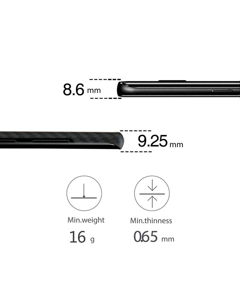 Pitaka Pitaka Aramid Case for Galaxy Note 8 - Black/Grey Twill