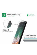 AMAZINGthing AT IPHONE X 0.2MM SUPREME GLASS (CRYSTAL)