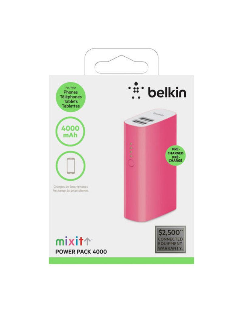 Belkin Belkin MIXIT↑ Power Pack 4000- Pink
