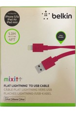 Belkin Belkin Mixit Lightning to USB Charge+Sync Cable 1.2M - Pink