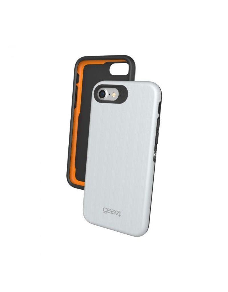 free shipping 8f284 7baa6 Gear4 Gear4 Trafalgar Protection Case for iPhone 7/8 - Silver