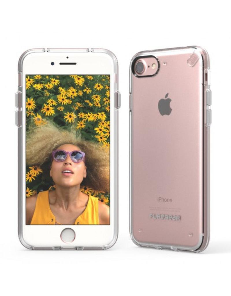 Pure Gear PureGear Slim Shell Pro Case for iPhone 7/8/SE - Clear