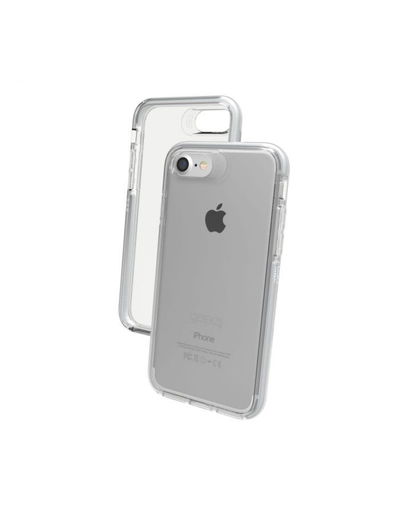 Gear4 Gear4 Piccadilly Protection Case for iPhone 7/8 - Silver