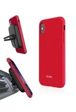 Evutec Evutec Ballistic Nylon Aergo Series Case With Afix for iPhone X - Red