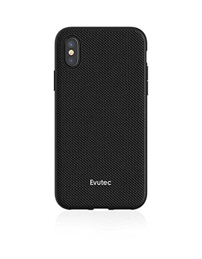 Evutec Evutec Aergo Series Case With Afix for iPhone X  - Black