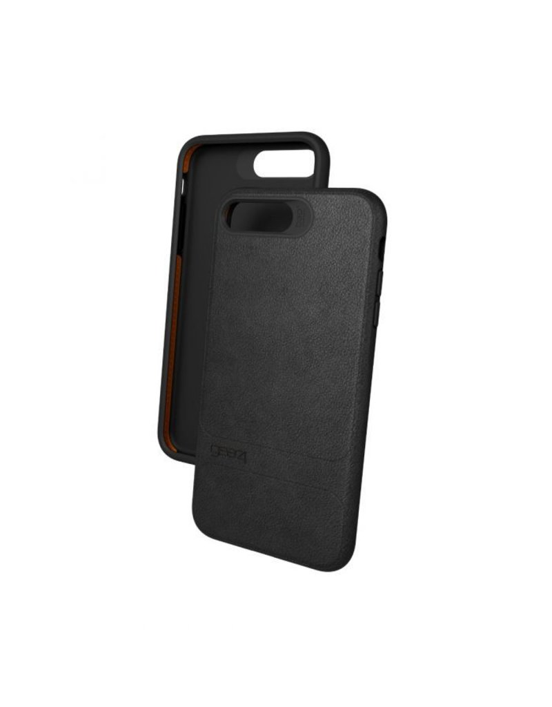 Gear4 Gear4 Mayfair Leather Protection Case for iPhone 7/8 Plus - Black
