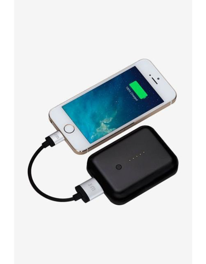 Just Mobile Just Mobile Gum++ High Capacity Backup Battery 6000 mAh - Black