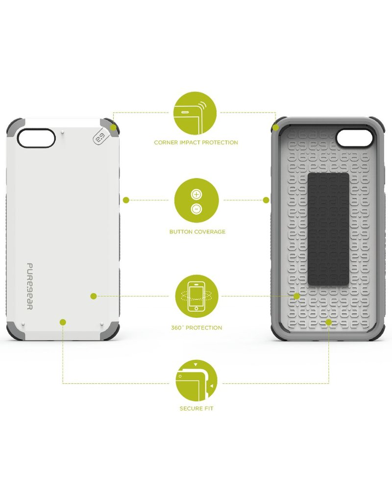 Pure Gear PureGear DualTek Case for iPhone 7/8/SE - Arctic White