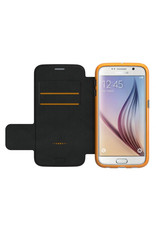 Gear4 Gear4 Oxford With D30 Protection Book Case for Galaxy S6 - Black