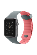 Belkin BELKIN APPLE WATCH 42/44MM SPORTS WRISTBAND - CARNATION (PINK AND GRAY)