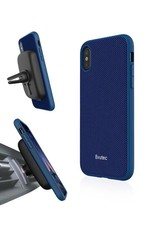 Evutec Evutec Ballistic Nylon Aergo Series Case With Afix for iPhone X - Blue