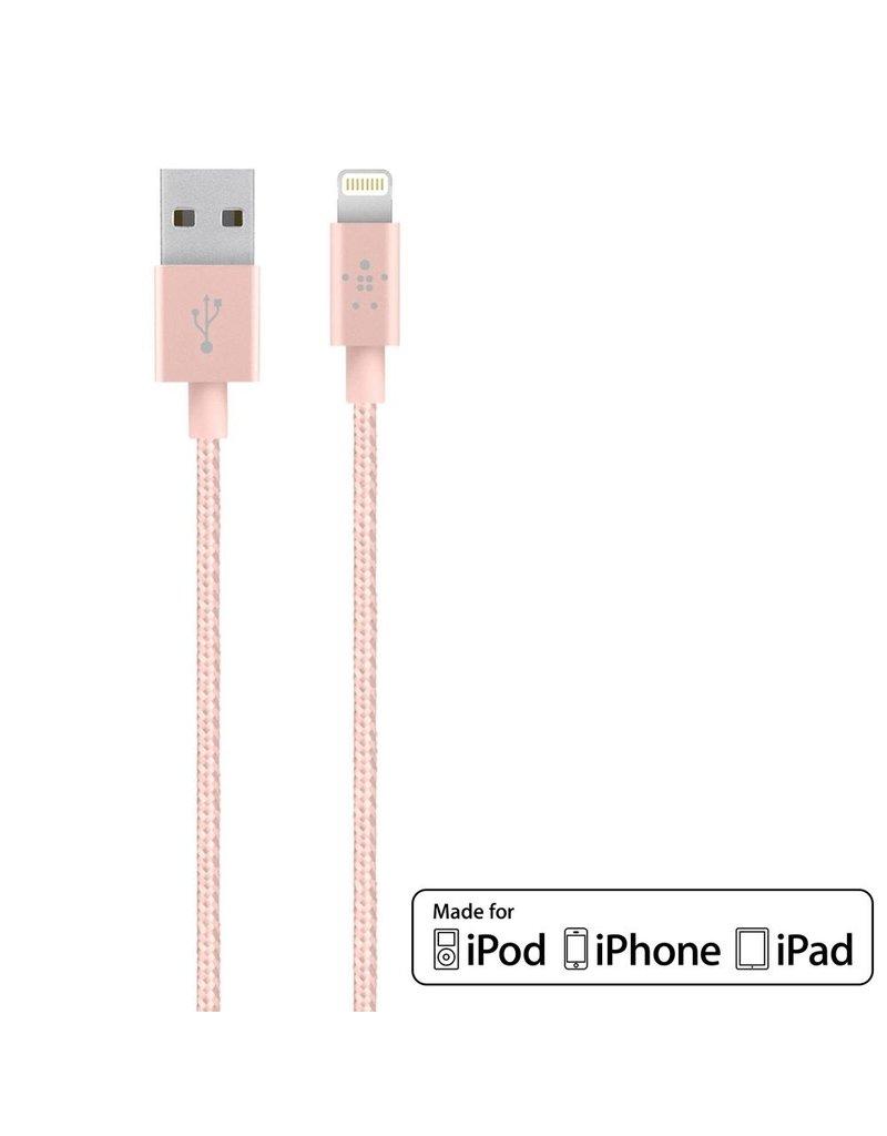 Belkin Belkin MIXIT↑ Metallic Lightning to USB Cable - Rose Gold