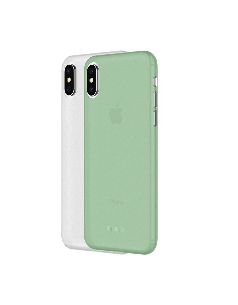 Incipio INCIPIO FEATHER CASE TWO PACK FOR APPLE IPHONE X - FROST & MINT