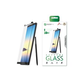 AMAZINGthing AT SAMSUNG NOTE 8 0.3MM U FIT-SMART SUPREME GLASS (BLACK)