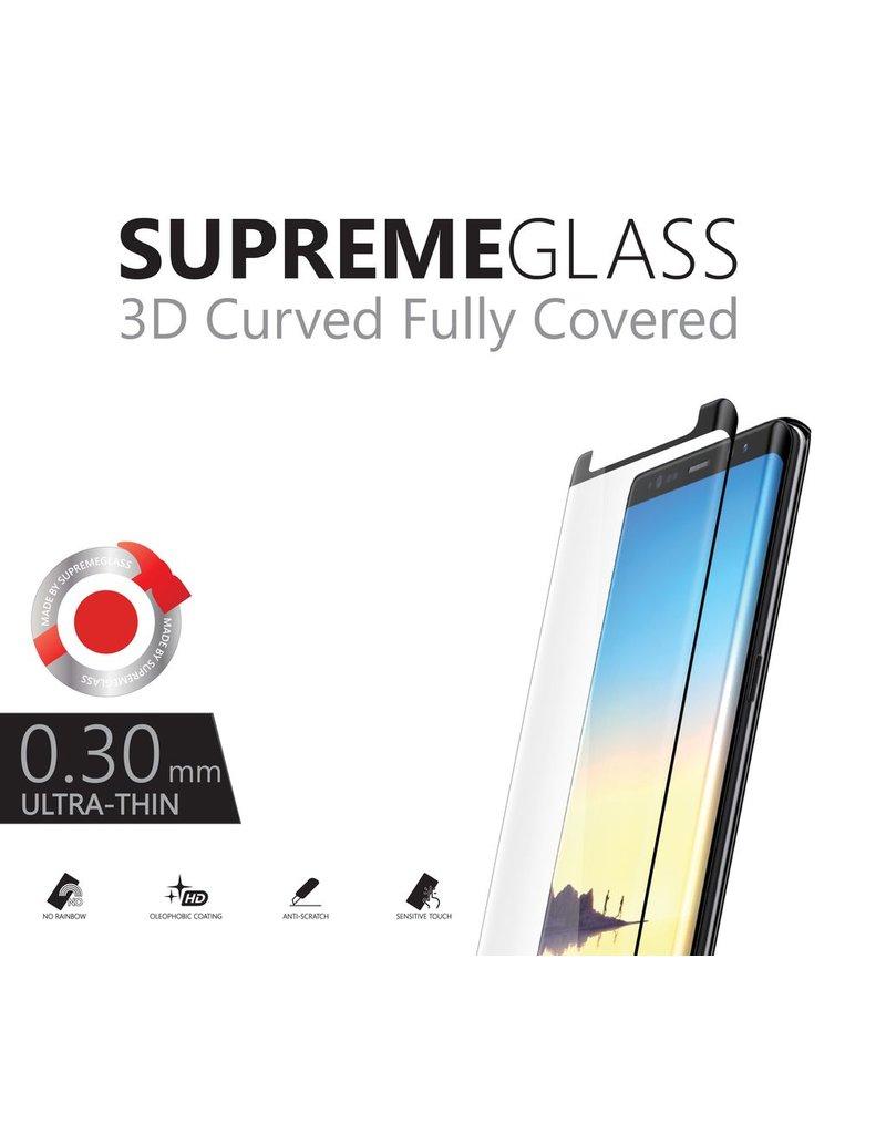 AMAZINGthing AT SAMSUNG NOTE 8 0.3MM U FIT-SMART SUPREME GLASS (BLACK)