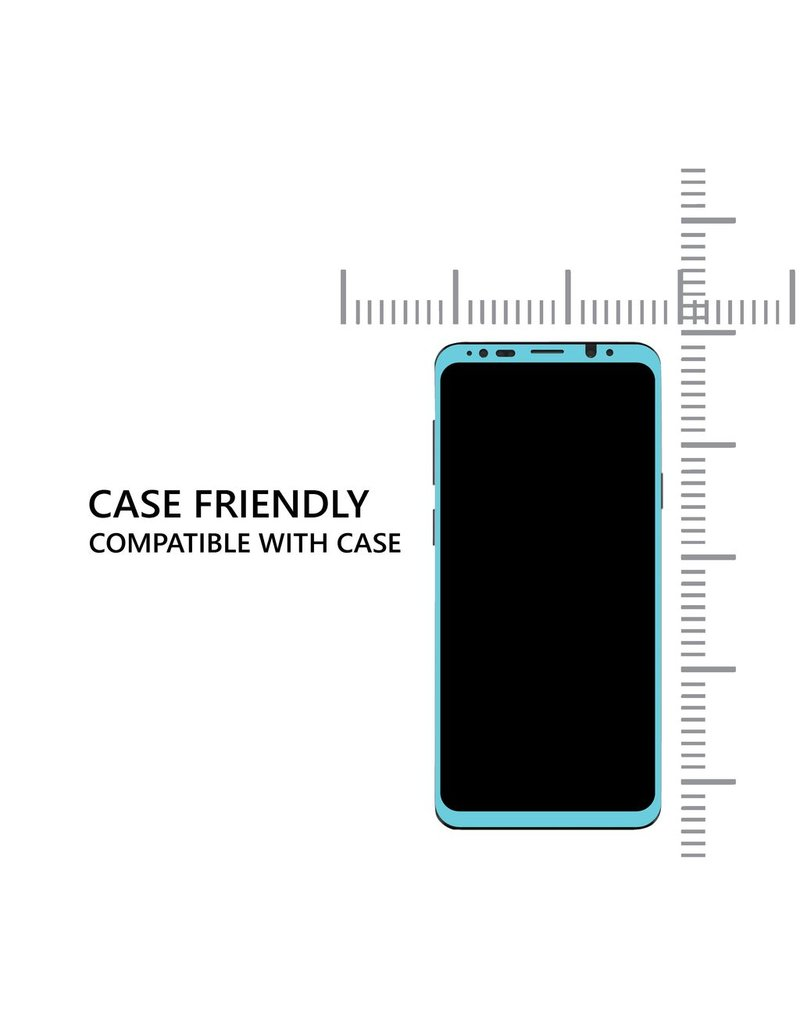 AMAZINGthing AT SAMSUNG S9 0.3MM 3D U FIT-SMART CURVED SUPREME GLASS (BLACK)