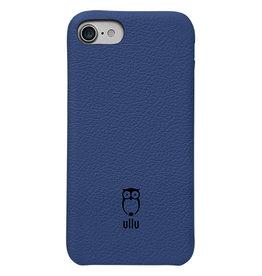 Ullu Ullu SnapOn Premium Leather Case For iPhone 7/8/SE - Blue Steel