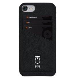 Ullu Ullu Wally Premium Leather Case For iPhone 7/8/SE  - Smoke Up