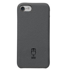 Ullu Ullu iPhone 7/8 SnapOn Case Premium Leather - Smoke up