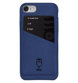 Ullu Ullu Wally Premium Leather Case For iPhone 7/8/SE - Blue Steel