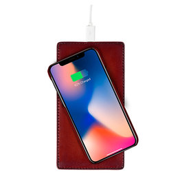 Ullu Ullu Magic Mat Hand Colored Leather Wireless Charging Pad - Boody Hell