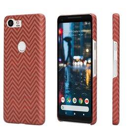 Pitaka Pitaka Aramid Case for Google Pixel 2 XL - Red/Orange Twill