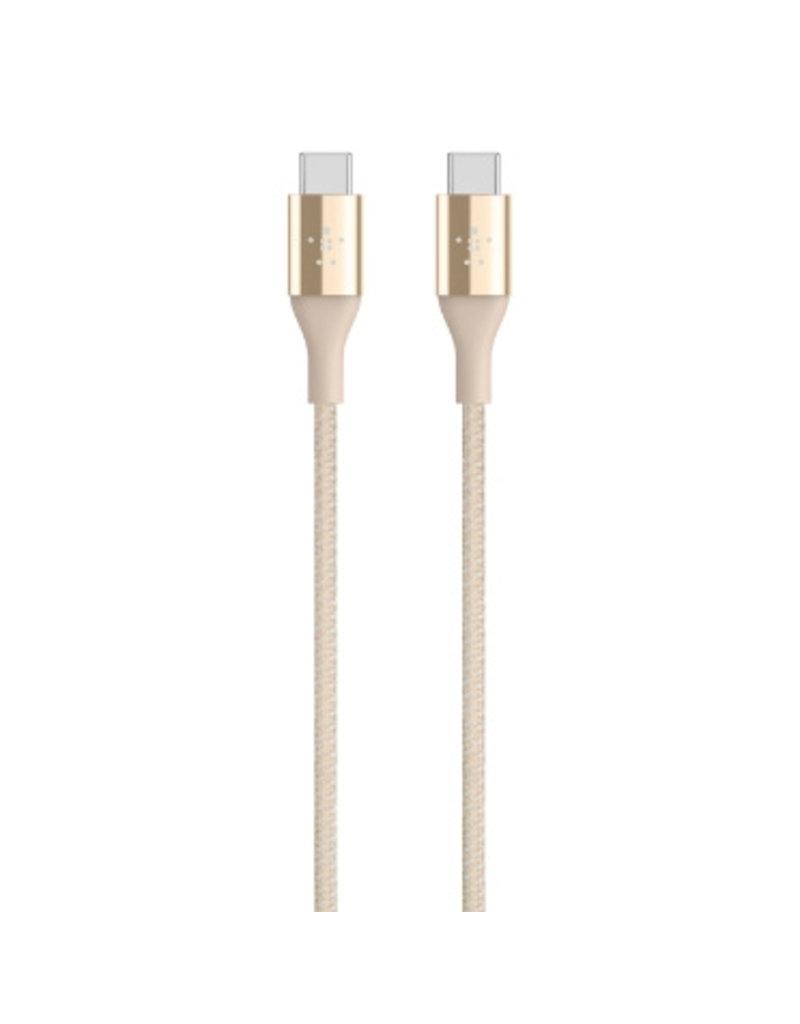 Belkin Belkin Mixit DuraTek USB-C to USB-C Kevlar Cable 1.2M - Gold