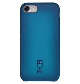 Ullu Ullu iPhone 7/8 SnapOn Case Hand Colored Leather - Turqish Delight